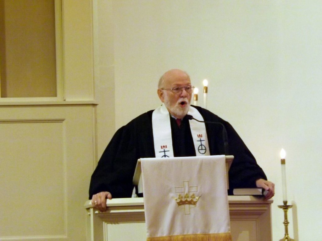 Pastor Joe's Final Service